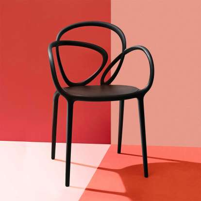 Loop Chair Without Cushion - Set of 2 pieces photo gallery 1