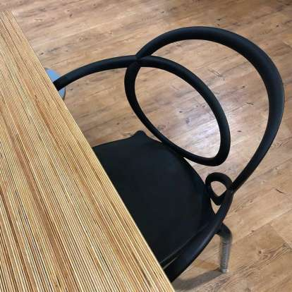 Loop Chair Without Cushion - Set of 2 pieces photo gallery 5