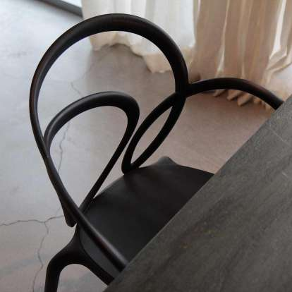 Loop Chair Without Cushion - Set of 2 pieces photo gallery 6