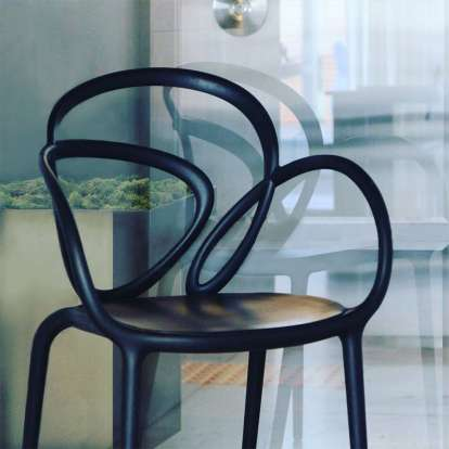 Loop Chair Without Cushion - Set of 2 pieces photo gallery 9