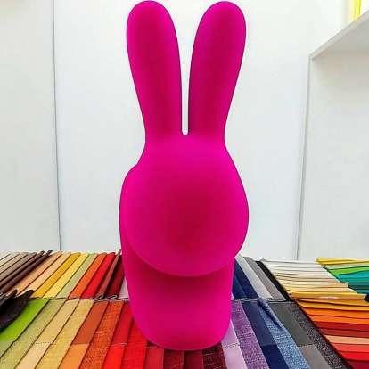 Rabbit Chair Velvet Finish photo gallery 7