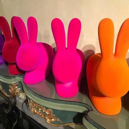 Rabbit Chair Baby Velvet Finish photo gallery 3