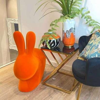 Rabbit Chair Baby Velvet Finish photo gallery 4