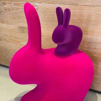 Rabbit Chair Baby Velvet Finish photo gallery 7