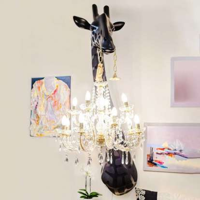 Giraffe in Love Wall Lamp photo gallery 6