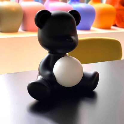 Teddy Girl Lamp with Rechargeable Led photo gallery 8