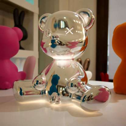 Teddy Boy Lamp Metal Finish with Cable photo gallery 10