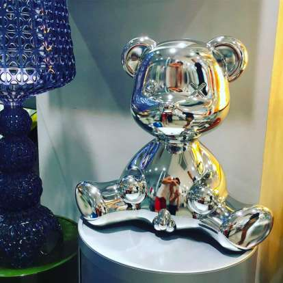 Teddy Boy Lamp Metal Finish with Cable photo gallery 11
