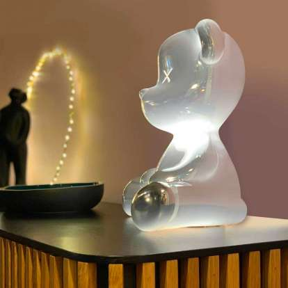 Teddy Boy Lamp Metal Finish with Cable photo gallery 3