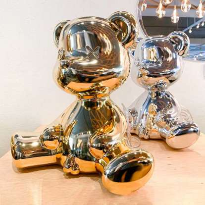 Teddy Boy Lamp Metal Finish with Cable photo gallery 9