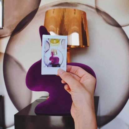Rabbit XS Bookend Velvet Finish photo gallery 8