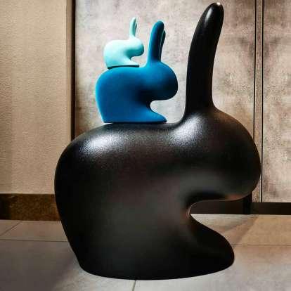 Rabbit XS Bookend Velvet Finish photo gallery 9