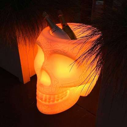 Mexico Planter and Champagne Cooler Lamp with Rechargeable Led photo gallery 2
