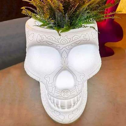 Mexico Planter and Champagne Cooler Lamp with Rechargeable Led photo gallery 6