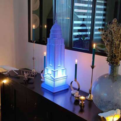 Empire Lamp with Rechargeable Led photo gallery 3