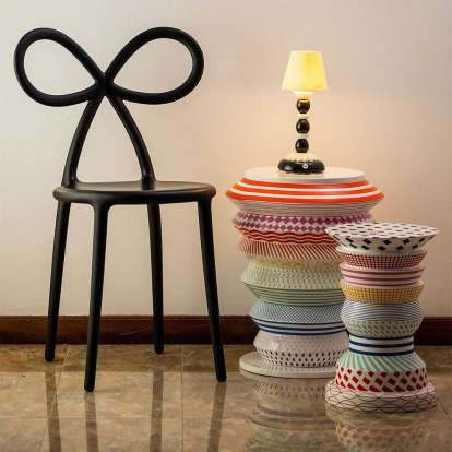 Ribbon Chair - Set of 2 pieces photo gallery 4