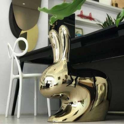 Rabbit Chair Metal Finish photo gallery 8