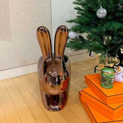 Rabbit Chair Baby Metal Finish photo gallery 2