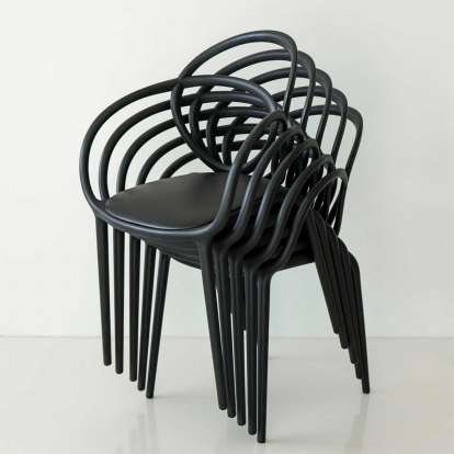 Loop Chair With Cushion - Set of 2 pieces photo gallery 3
