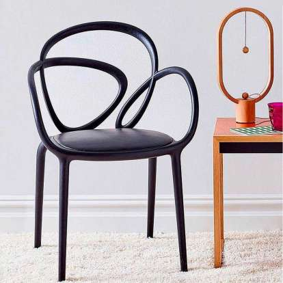 Loop Chair With Cushion - Set of 2 pieces photo gallery 4