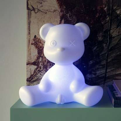 Teddy Boy Lamp with Rechargeable Led photo gallery 1