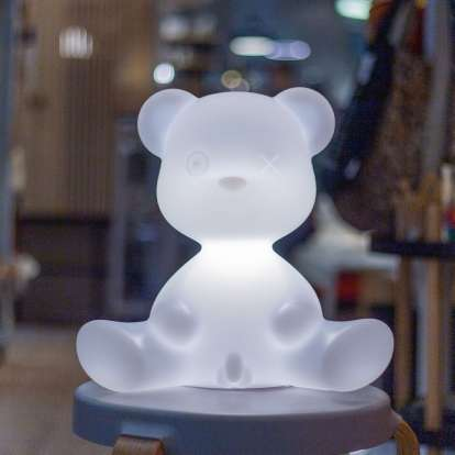 Teddy Boy Lamp with Rechargeable Led photo gallery 3